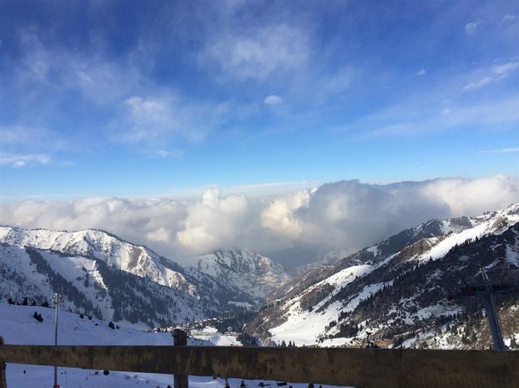 אתרים בקזחסטן: אתר הסקי של שימבולאק