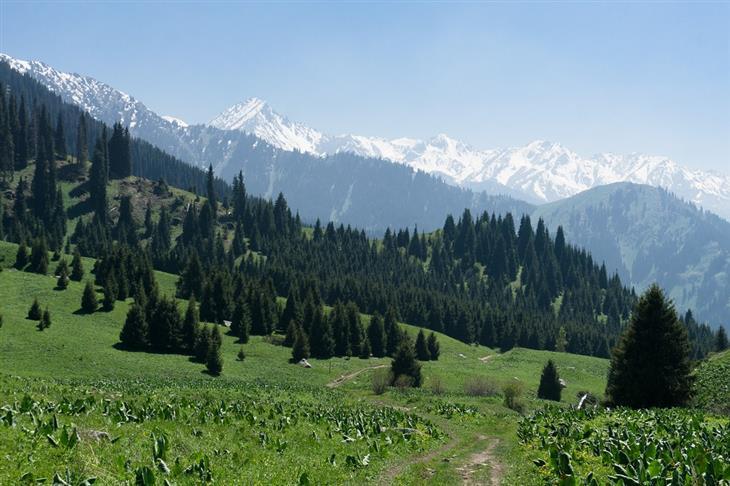 אתרים בקזחסטן: פארק לאומי אילה אלטאו