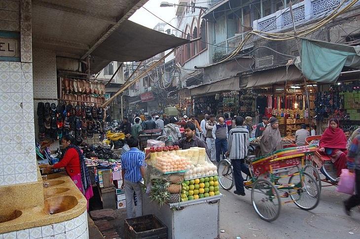 אתרים בדלהי: שוק צ'אנדני צ'וק