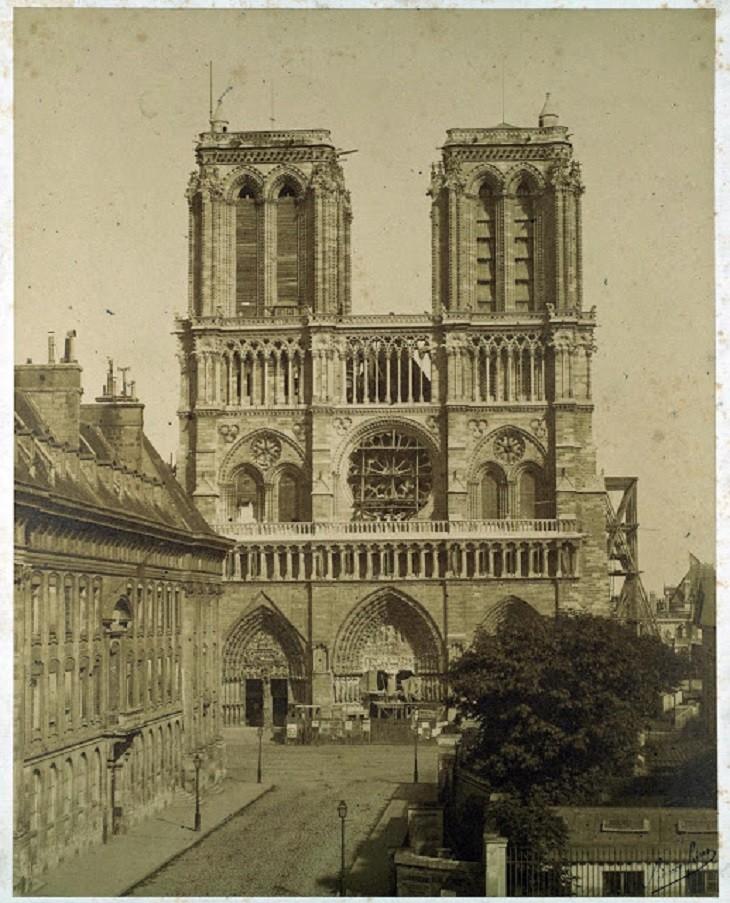 קתדרלת נוטראדם: קתדרלת נוטראדם בין השנים 1840-1850