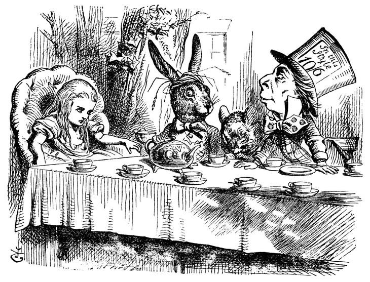 אירועי פסח חינמיים: מסיבת התה של הכובען המטורף