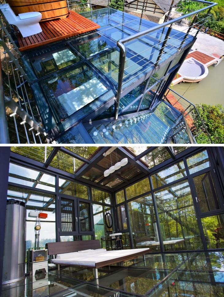 מלונות מיוחדים מסביב לעולם: בית הארחה קוביית הזכוכית