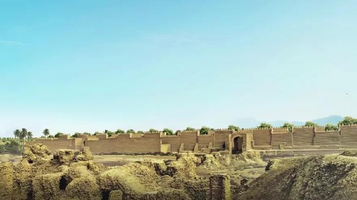 שחזורי 7 פלאי תבל של העולם העתיק: אזור הגנים התלויים של בבל כפי שנראה כיום