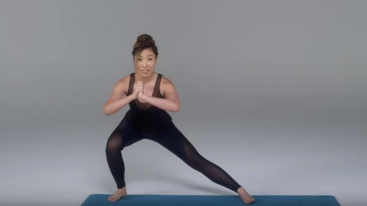 תרגילי כושר לפי מבנה רגליים: הישענות הצידה