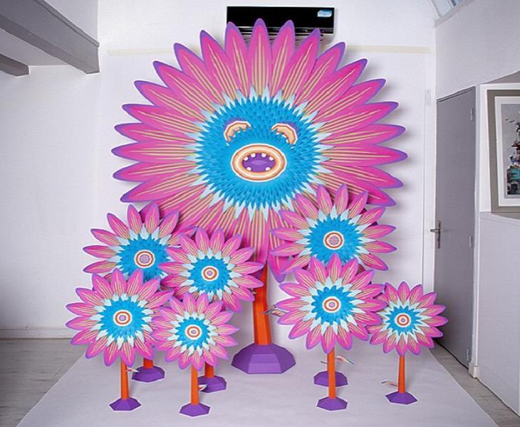 יצירות מנייר: פרחים