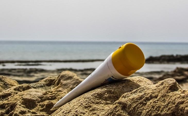 תכשירי הגנה: קרם הגנה בחול
