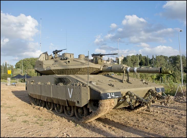 """אמצעי לחימה מתקדמים של צה""""ל: טנק מרכבה סימן 4"""