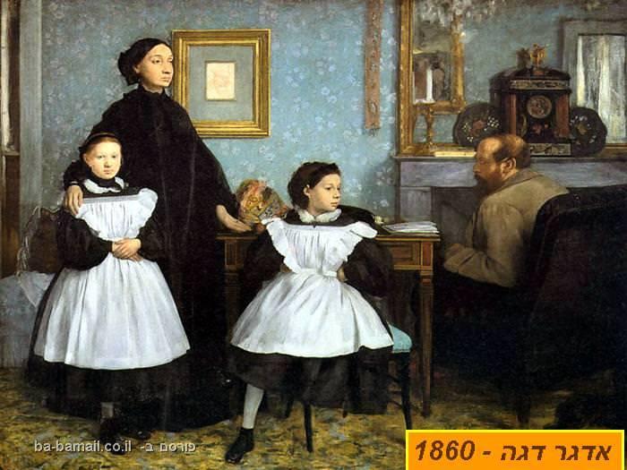 צייר, ציור, ציירים, אימפרסיוניסטים, אדגר דגה