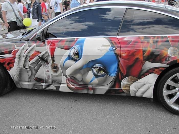 ציורי רכב מדהימים