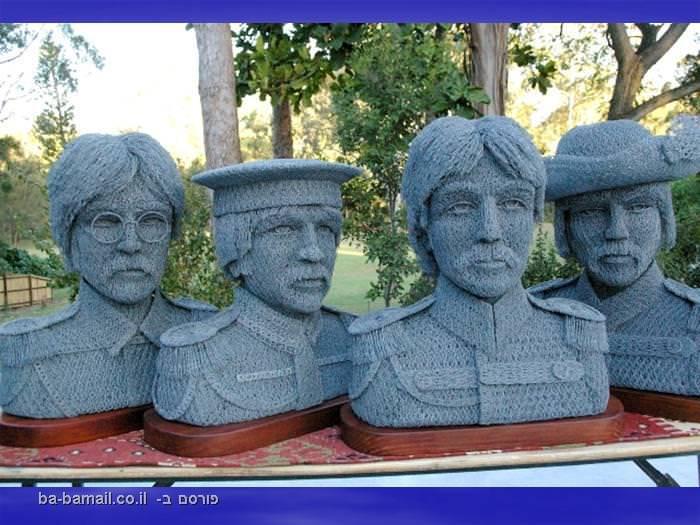 פסלים מגדרות תיל