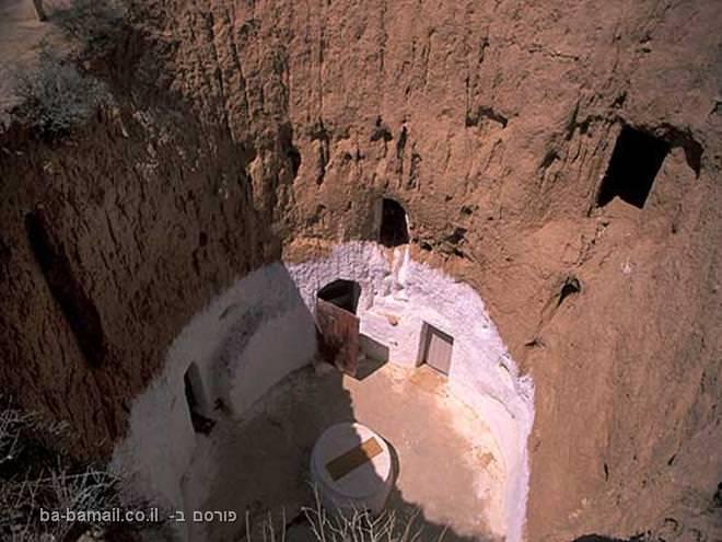 מגורי הברברים במטמטה, טוניס