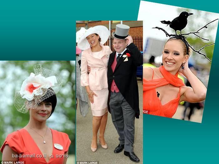 אנגליה, נשים, כובעים, תחרות סוסים, מפורסמים
