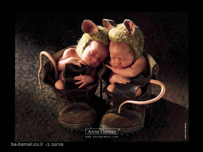תינוקות, תינוק, אן גדס, תינוקות מחופשים