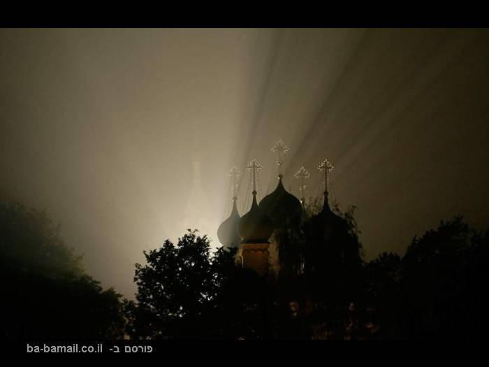 שריפה, שריפות ענק, שריפות ברוסיה, כנסייה