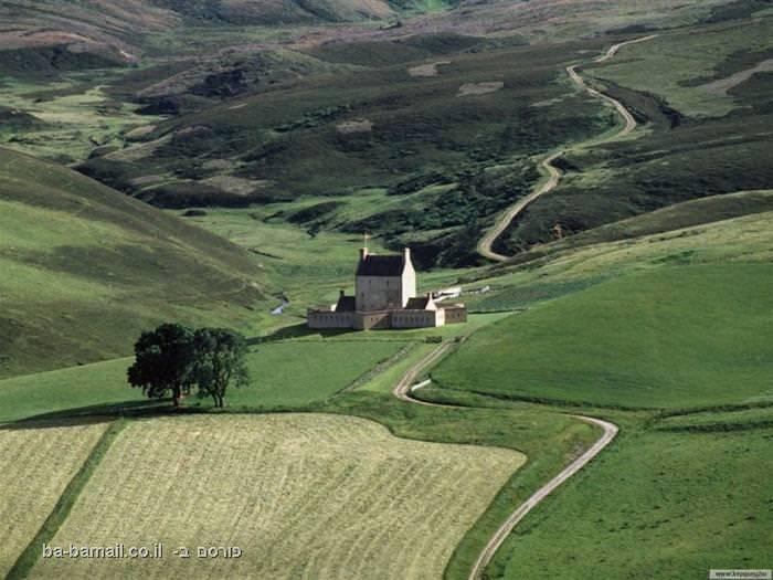 סקוטלנד, בריטניה, מדשאות, טבע