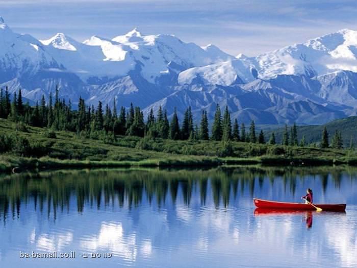 אלסקה, תמונות מדהימות, נוף, אגם