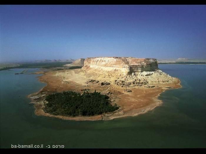 מצרים, מצרים מהאויר, תמונות מדהימות, תמונות מלמעלה, מלון, נווה מדבר, סיווה