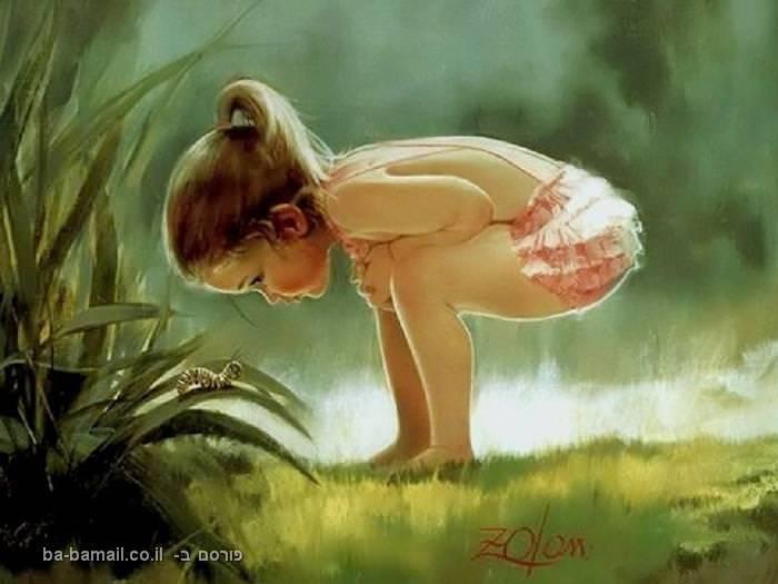 דונלד זולאן, ציורי ילדים, פעוטות