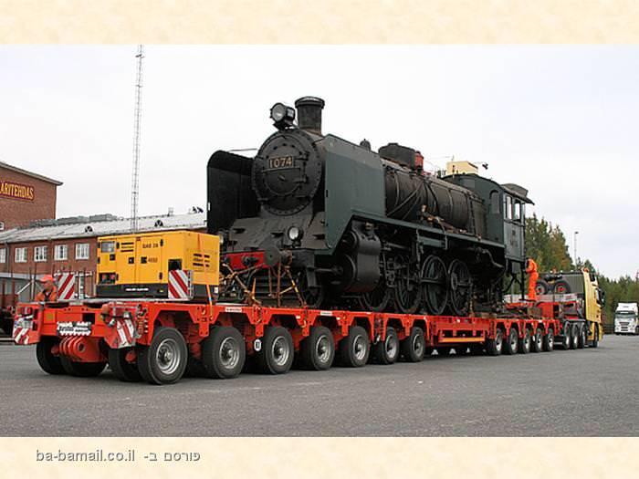 משאית, מטען, הובלה, מטען חורג,