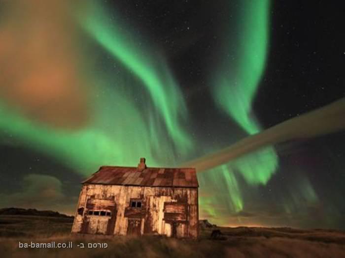 הזוהר הצפוני של איסלנד - פשוט יפהפה