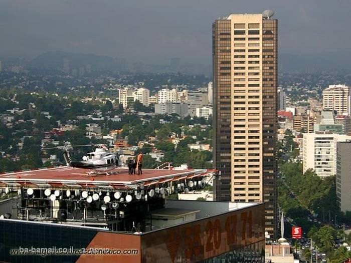 מבט על מקסיקו סיטי ממעוף הציפור