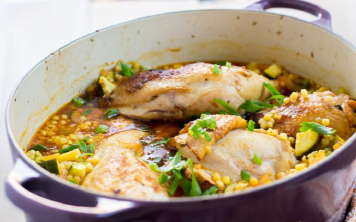 מתכון לתבשיל עוף עם פתיתים