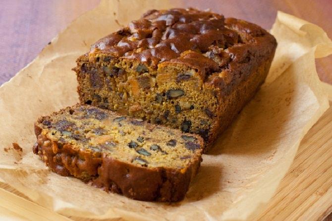 מתכון ללחם פקאן ותמרים