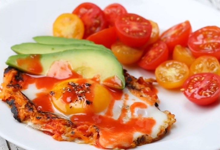 מתכון לביצה בקן עם בטטה