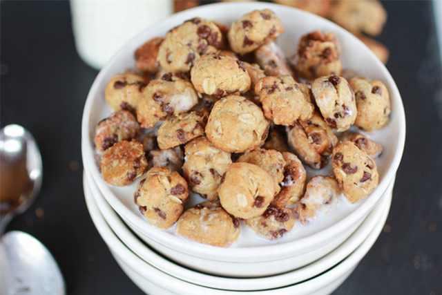 מתכון לדגני בוקר עוגי עם שוקולד צ'יפס