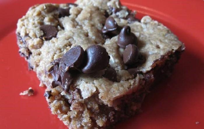 מתכון לעוגת שיבולת שועל, שוקולד צ'יפס ושעועית לבנה