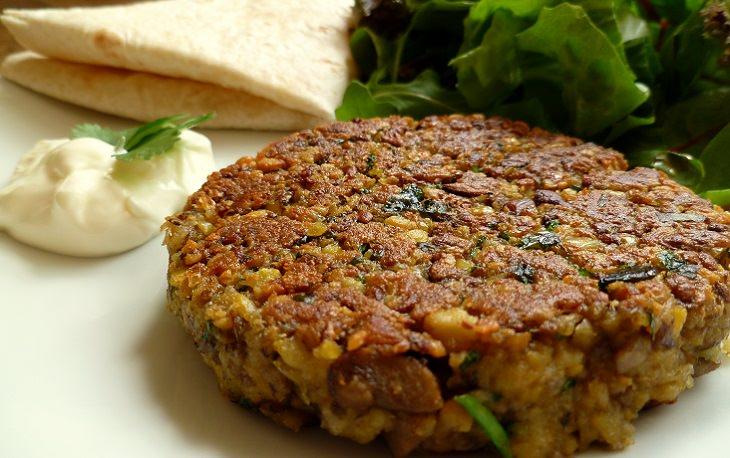 מתכון להמבורגר חומוס טבעוני