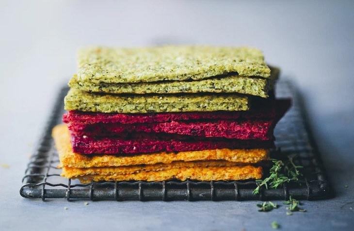 מתכון לפרוסות לחם צבעוניות ללא גלוטן