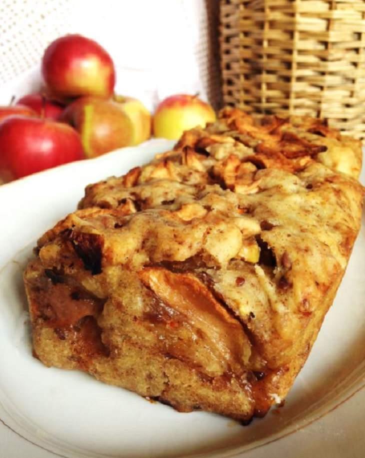 מתכון לעוגת תפוחים קלה להכנה