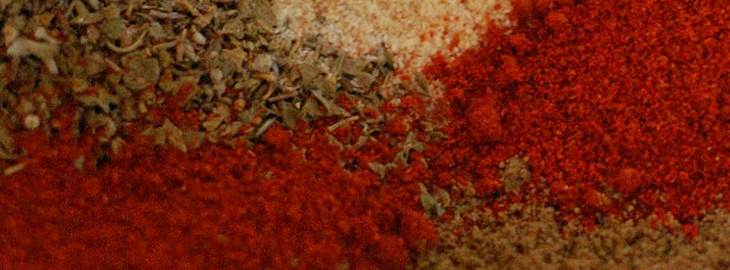 מתכון לתערובת אבקת צ'ילי ביתית