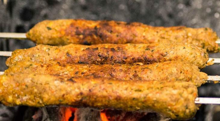 מתכון לקבב ירקות מעורבים ללא בשר