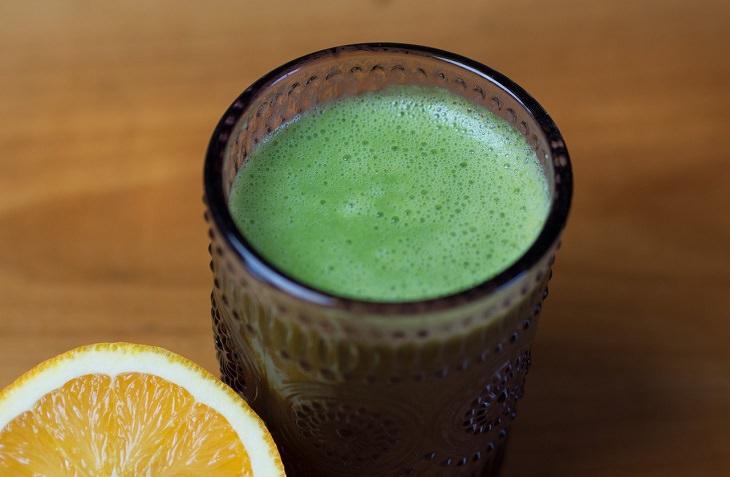 מתכון למשקה תפוז-תרד