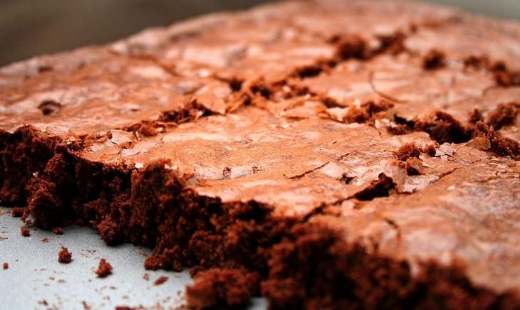 מתכון לבראוניז שוקולד-שקדים
