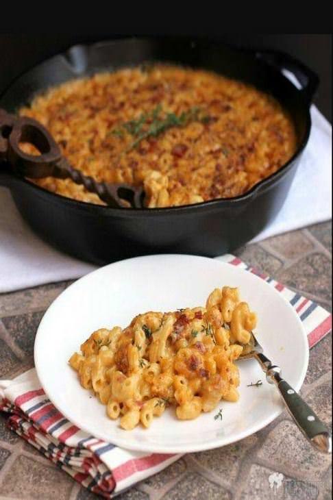 מתכון לפשטידת גבינה ואטריות - מקרוני צ'יז