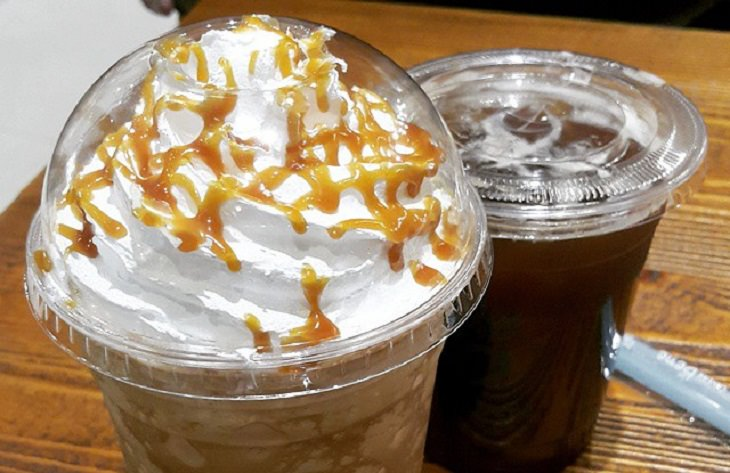 מתכון לקפה מוקצף דל קלוריות - פרפוצ'ינו