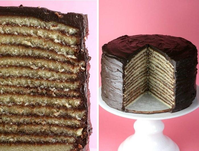 מתכון לעוגת שוקולד שכבות
