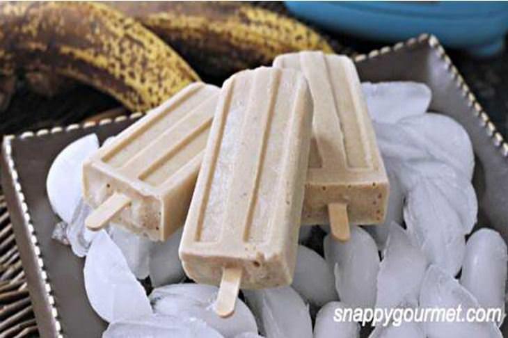 מתכון לארטיק בננה פוסטר