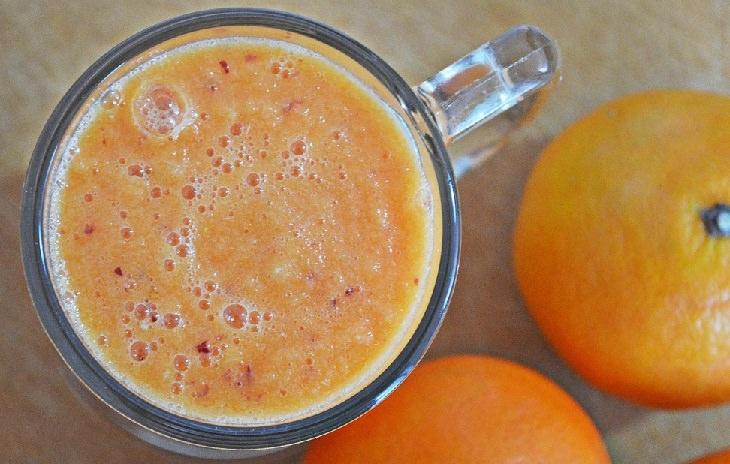מתכון למיץ תפוזים ואגסים