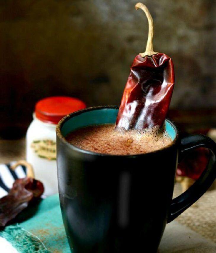 מתכון לשוקו מקסיקני חם עם צ'ילי