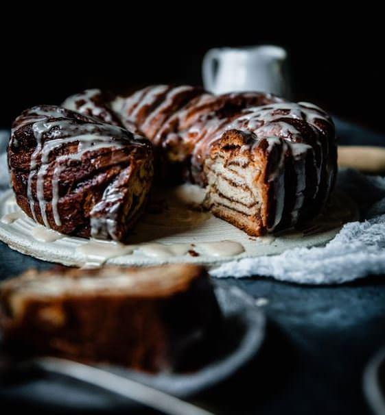מתכון לבבקה - עוגת שוקולד שמרים