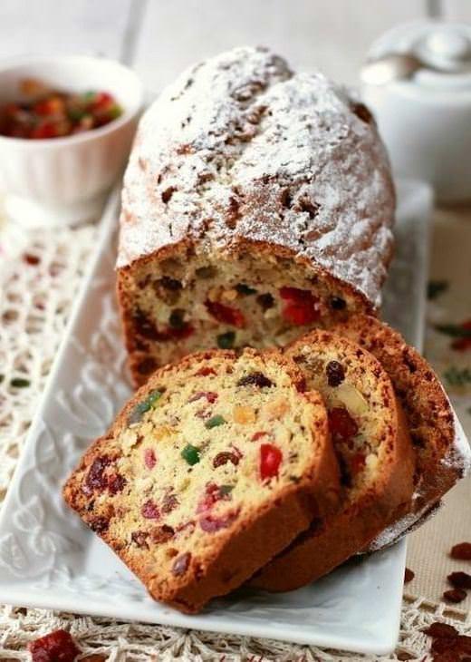 מתכון לעוגה אנגלית בחושה עם קליפות הדרים