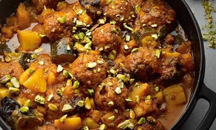 מתכון לתבשיל כדורי בשר וירקות