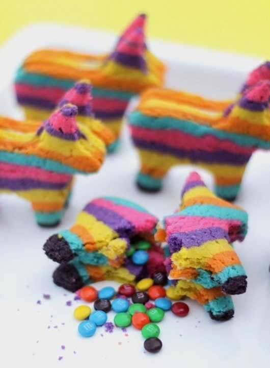 מתכון לעוגיות הפתעה צבעוניות
