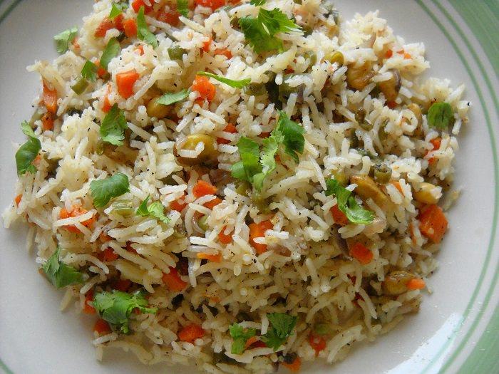 מתכון לאורז בסמטי עם ירקות ושמן זית