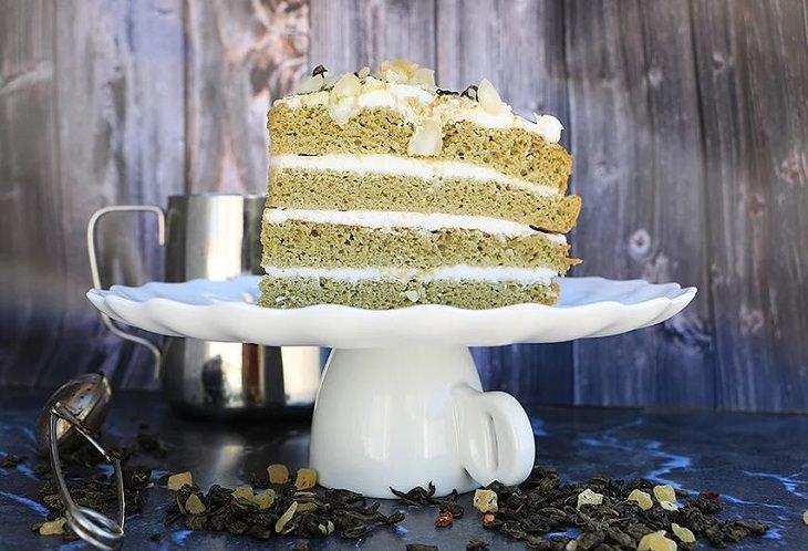 מתכון לעוגת התה מקמח קוקוס ושקדים של הודליה כצמן
