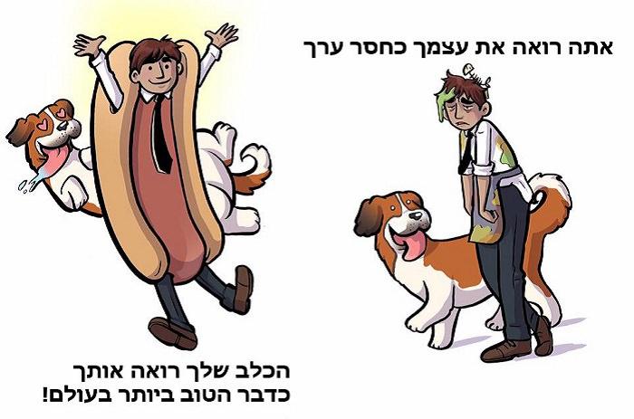 איך הכלב שלכם רואה אתכם?